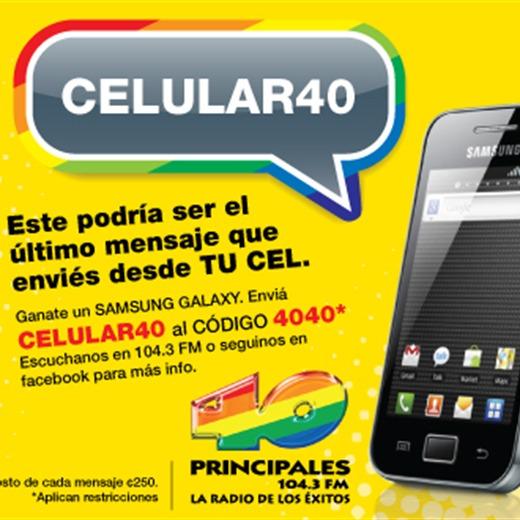 Ganate un Samsung Galaxy con Los 40