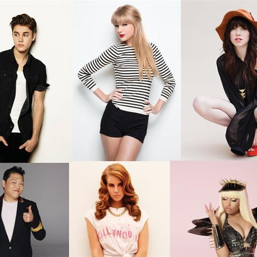 TAYLOR SWIFT, CARLY RAE JEPSEN & JUSTIN BIEBER - Grandes Ganadores en lo MTV EMA 2012 !!!