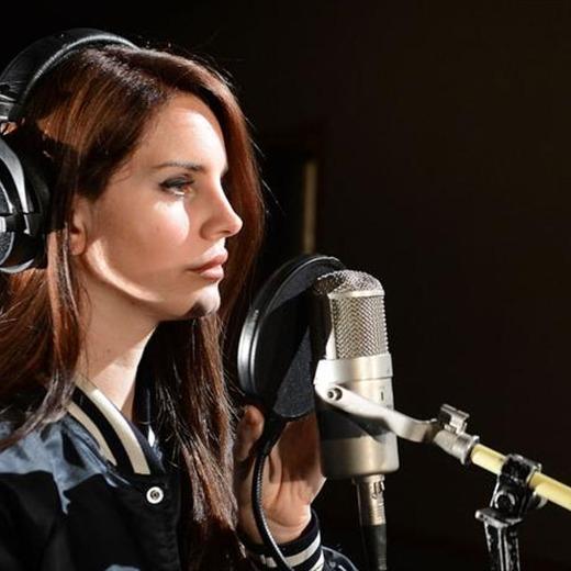 Lana del Rey graba disco en LA