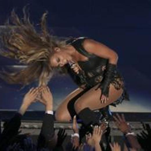 Beyoncé se salio del playback en la Super Bowl