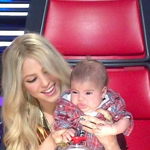 Shakira llevó a Milan a