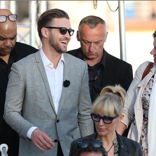Justin Timberlake desató locura en Cannes