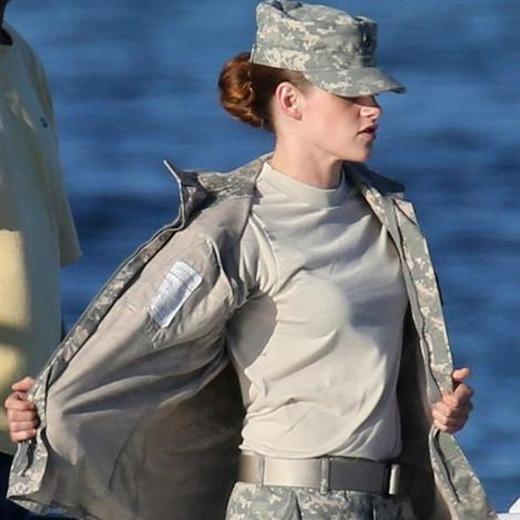 Kristen Stewart será militar