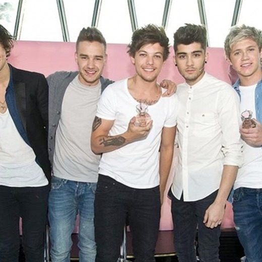 ¡El perfume de One Direction recaudó más de medio millón de dólares en una semana!