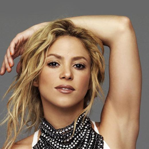 Shakira está en el estudio preparando su nuevo álbum