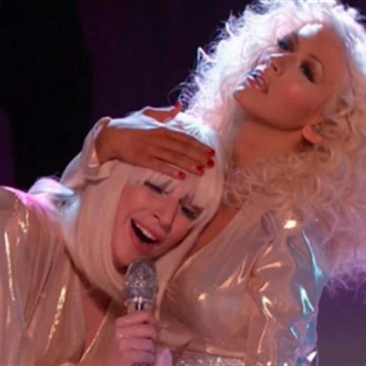 Lady Gaga podría grabar con Christina Aguilera