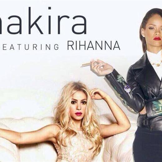 Shakira y Rihanna juntas