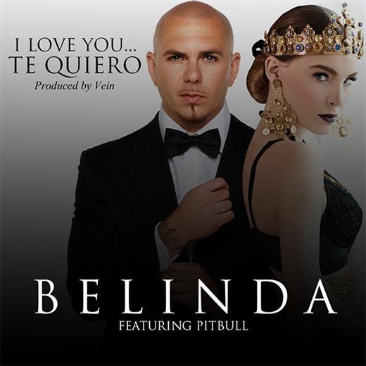 Regresa Belinda en companía de Pitbull