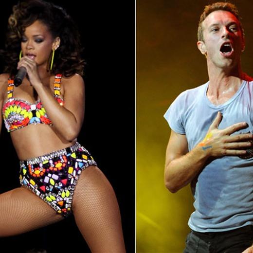 Chris Martin y Rihanna, ¿juntos?