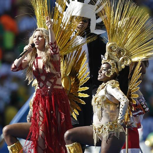 Shakira, la triunfadora del Mundial 2014