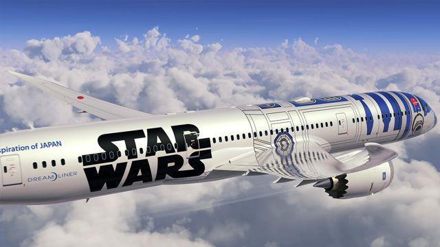 ¡Fiebre de Star Wars llega a los aires!