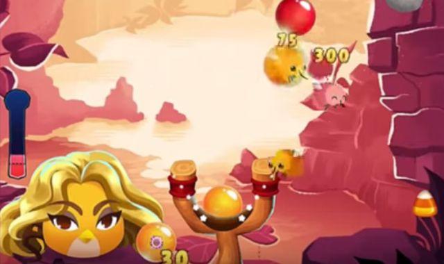 Shakira se convierte en un Angry Bird