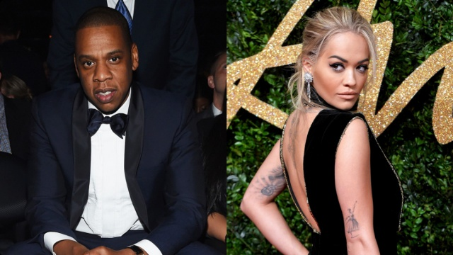 Rita Ora niega supuesto romance con Jay Z