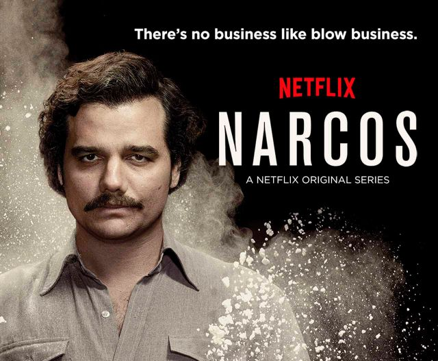 "La serie de Netflix ""Narcos"" tendrá un tico"