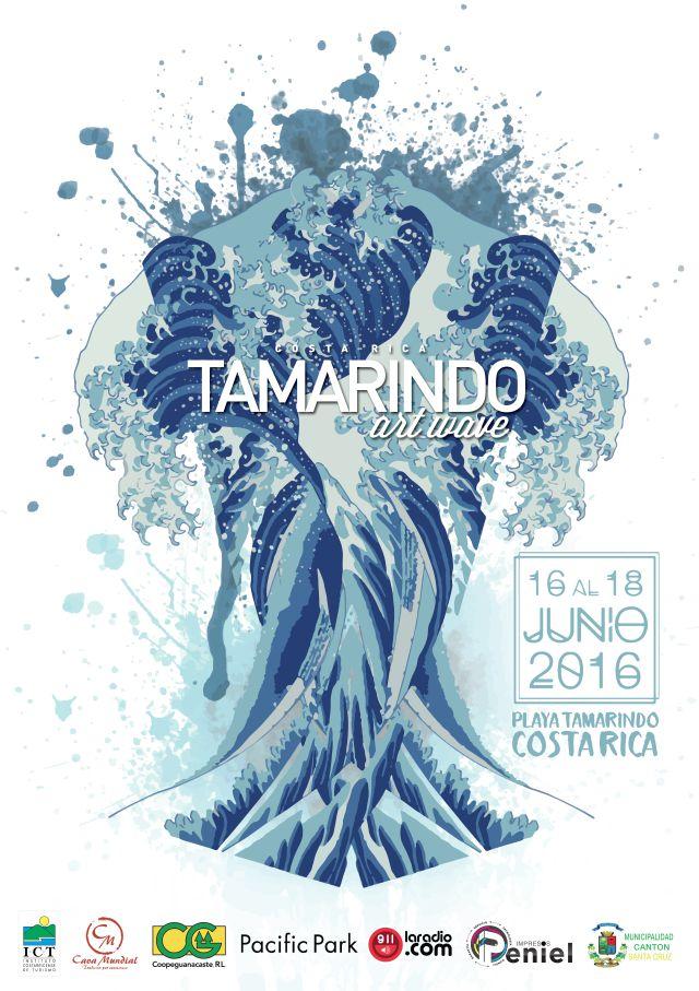 Se viene el Tamarindo Art Wave