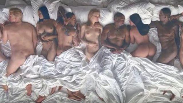 Artistas molestos con nuevo video de Kanye West