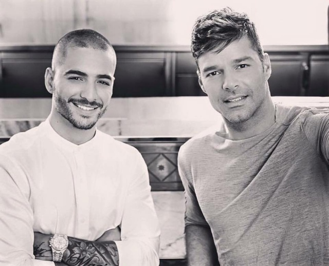 Ricky Martin y Maluma están preparando una sorpresa
