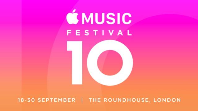 ¡Vuelve el Apple Music Festival!