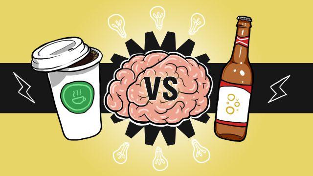 La cerveza es más saludable que el café