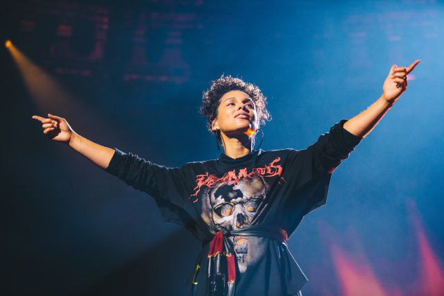 Alicia Keys estuvo espectacular en el Apple Music Festival