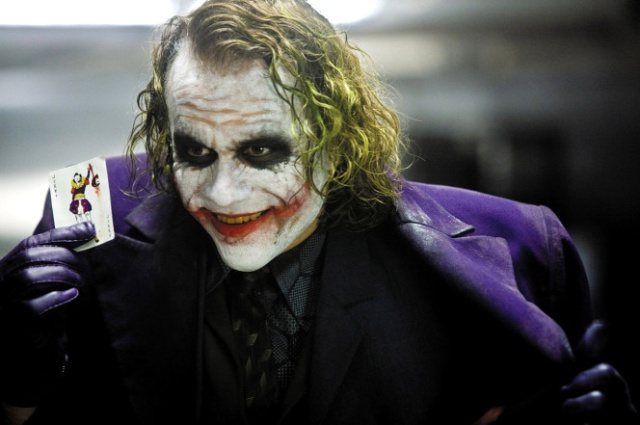 Heath Ledger hizo un templo al Joker en su apartamento