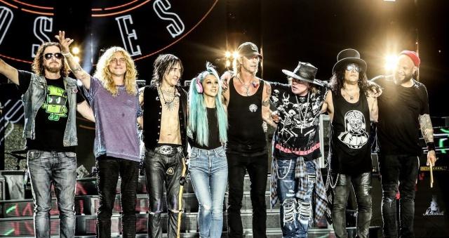 ¿Qué podría tocar Guns N' Roses en Costa Rica?
