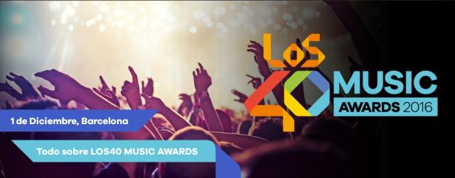 ¡Toda la información de LOS40 Music Awards!