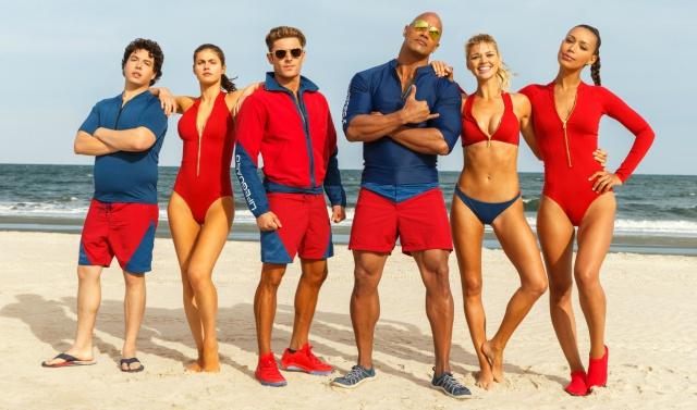 Belinda, Zac Efron y Dwayne Johnson suben la temperatura en primer trailer de Baywatch