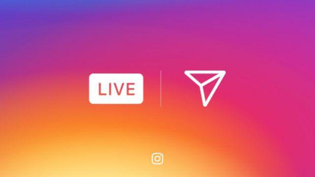 ¡Llegaron las transmisiones en vivo a Instagram!