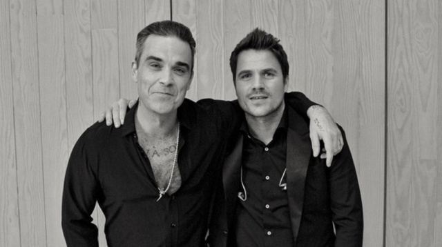 ¿Robbie Williams y Dani Martin