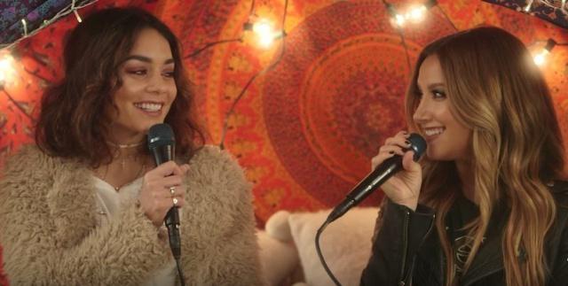 Ashley Tisdale y Vanessa Hudgens juntas en su primer dueto