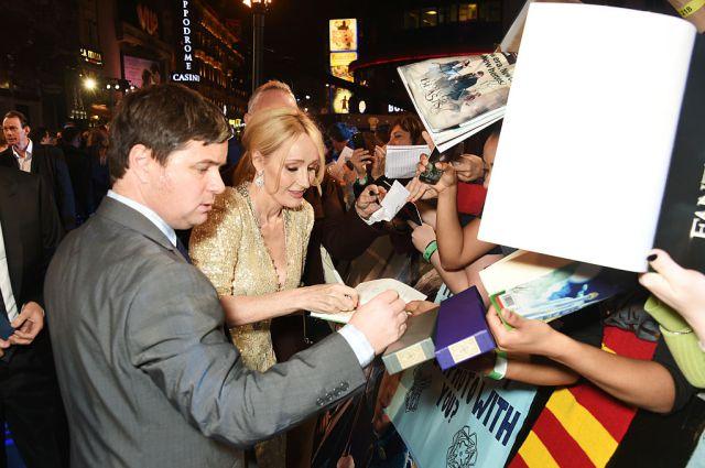 J.K Rowling reveló el nombre de su nuevo libro