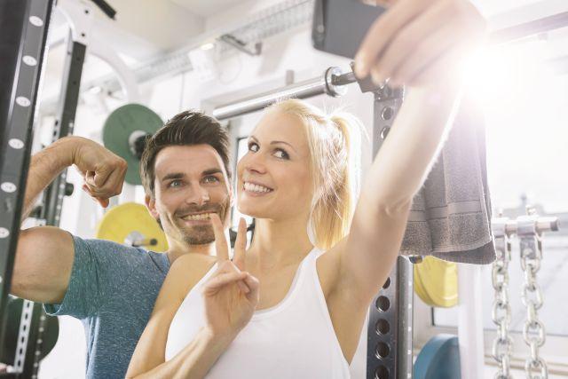 ¿Obsesionado con tomarse fotos en el gym? Eso indica problemas