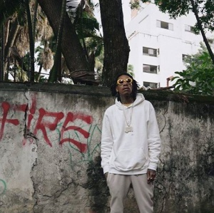 Wiz Khalifa enciende puro de marihuana en tumba de Pablo Escobar