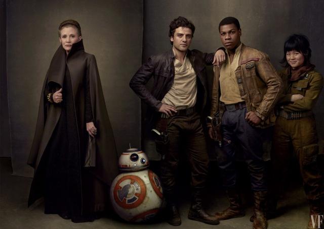 ¡Qué la fuerza esté con nosotros! Así se verá Star Wars 8