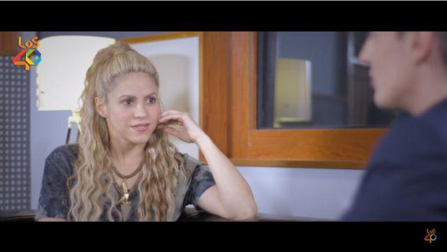 Conocé a la #RealShakira: Ella le abre su corazón a Los 40