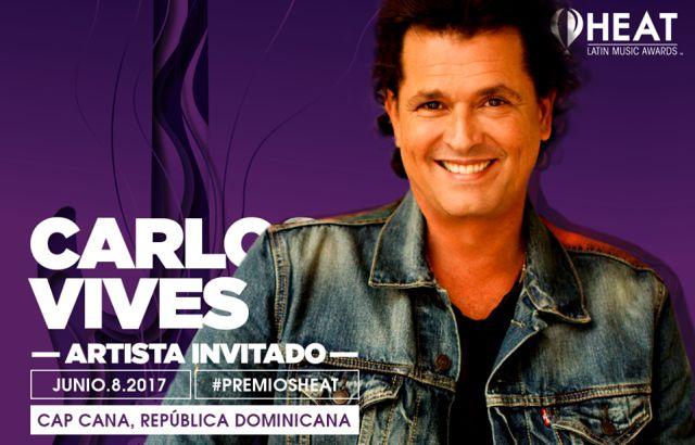 Carlos Vives pondrá el sabor colombiano a los Premios Heat