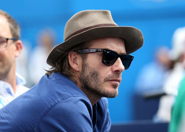 David Beckham defiende la foto más polémica de sus redes