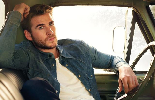 Liam Hemsworth enseñó todo y más en su cuenta de Instagram
