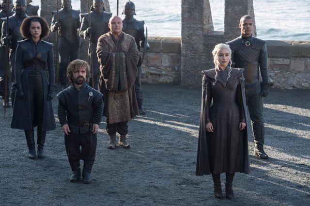 Filtran fotos de la sétima temporada de Game Of Thrones