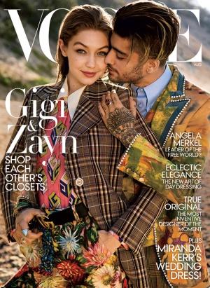 Zayn Malik y Gigi Hadid juntos en Vogue
