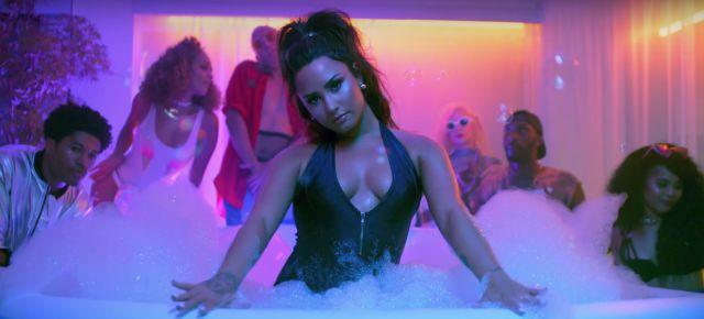 Demi Lovato aparece más sensual en su nuevo video