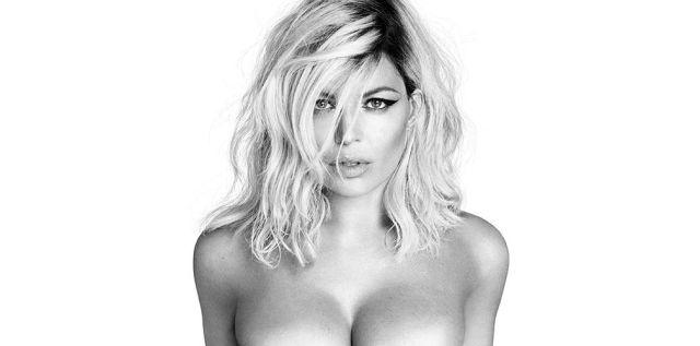 Fergie se desnuda para promocionar su nuevo disco