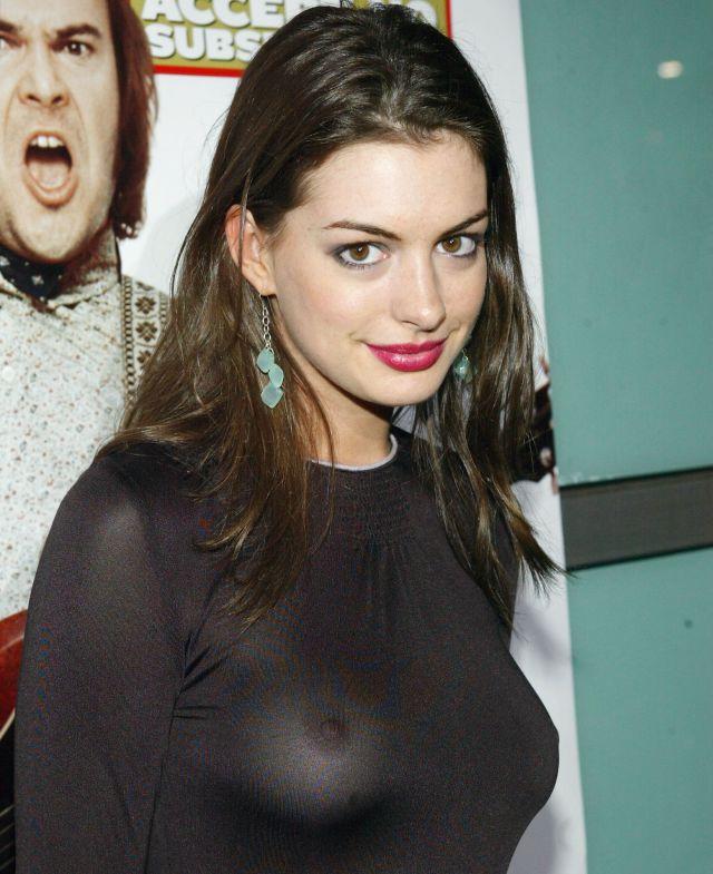 Filtran fotografías íntimas de Anne Hathaway