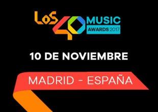 Disfrutá este 10 de noviembre la fiesta de la música de Los 40 ¡Votá por tus favoritos!