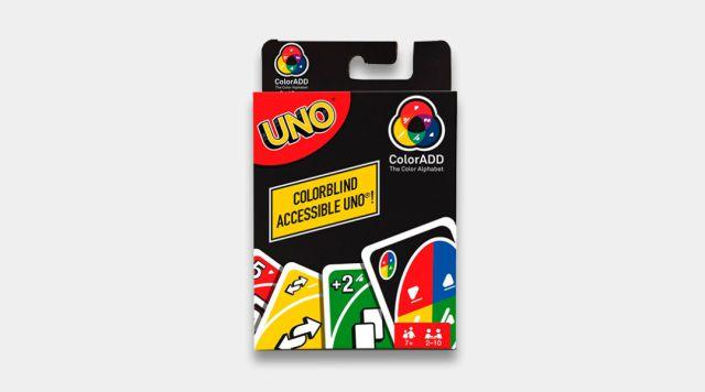 ¡Mattel lanzó un nuevo UNO para daltónicos!