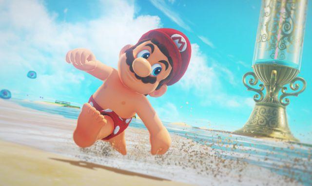 ¡Mario Bros tiene pezones!