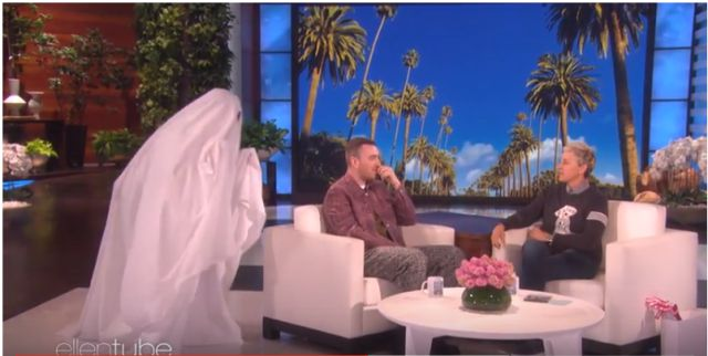Ellen DeGeneres asustó a Sam Smith dos veces en menos de un minuto