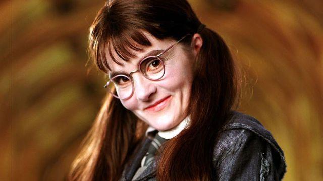 Así se ve Myrtle La Llorona de Harry Potter 15 años después