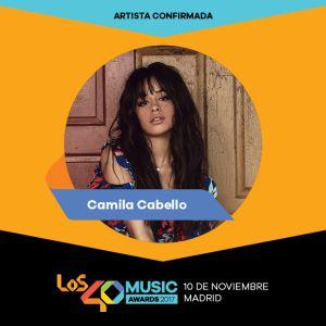 Camila Cabello estará en Los40 Music Awards